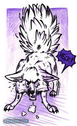 Battle Damaged Anxiety Fox