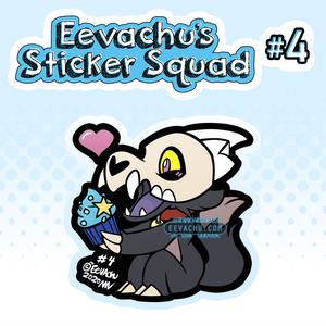 Cupcake King - Eevachu's Sticker Squad #4