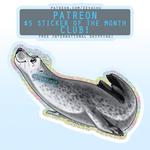 LONG Seal - February 2021 Sticker