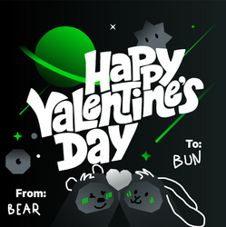 Late Valentine~