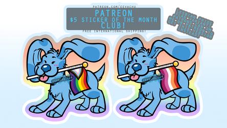 Blue's Pride - March 2021 Sticker