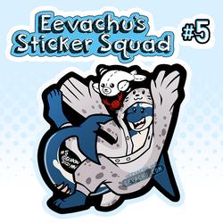 Eevachu's Sticker Squad #5 - Joss the Orca