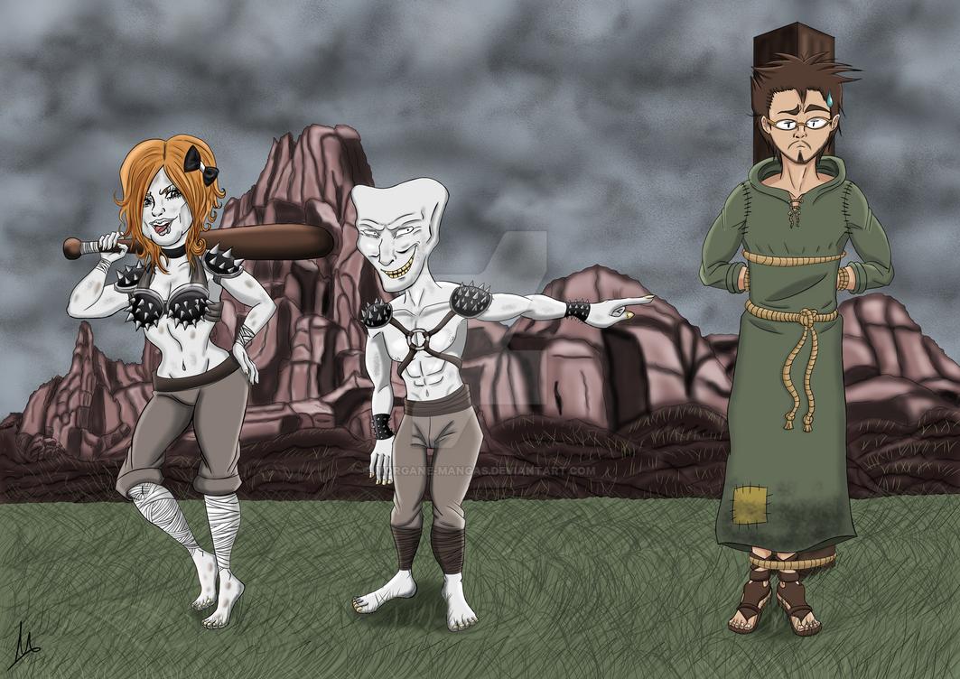 Trolls et Antoine Daniel FDP Tubonia by Morgane-Mangas