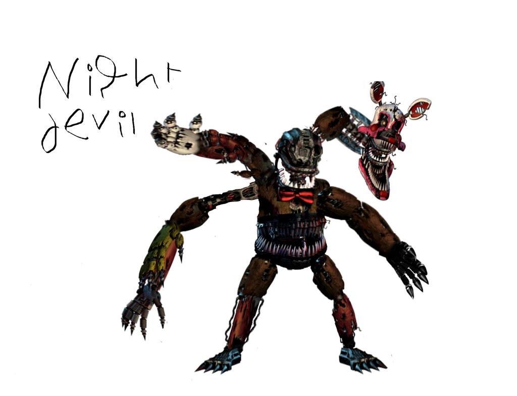Fnad Nightmare Animatronics By Wicher8181 Deviantart – Desenhos Para