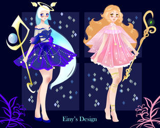 (OPEN  1|2 ) - Magic Girls Adoptables - AUCTION by EinysDesign