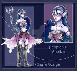 (CLOSED) Adoptable Sea Warrior Girl - Auction by EinysDesign