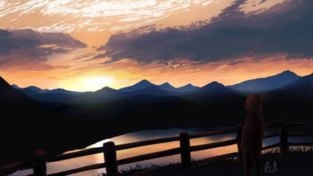 Distant Melancholy by DragonBreath75
