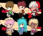 [Set Price] Chibi Adoptable Batch 1 by DragonBreath75