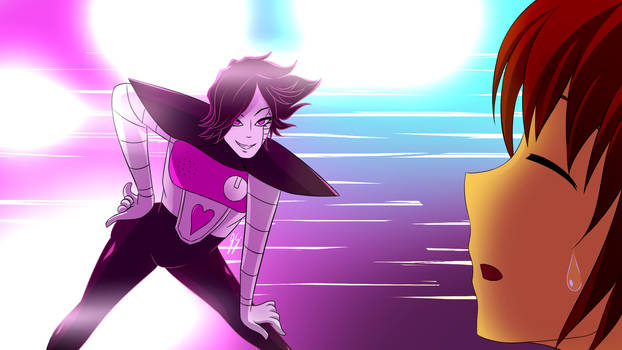 Undertale - Mettaton Strikes a Pose