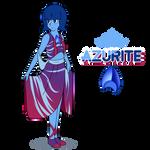 Warframe x Steven Universe   Azurite by DragonBreath75