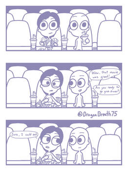 Every time I go to the movies [Comic]