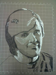 Art Drawing 1 self portrait - not finished by Lakesidesoccer