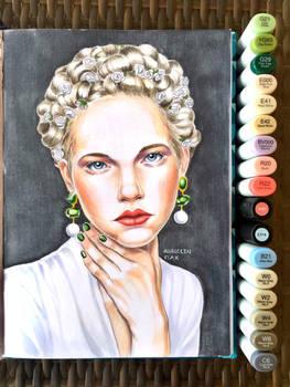 Portrait Study: Marker 5