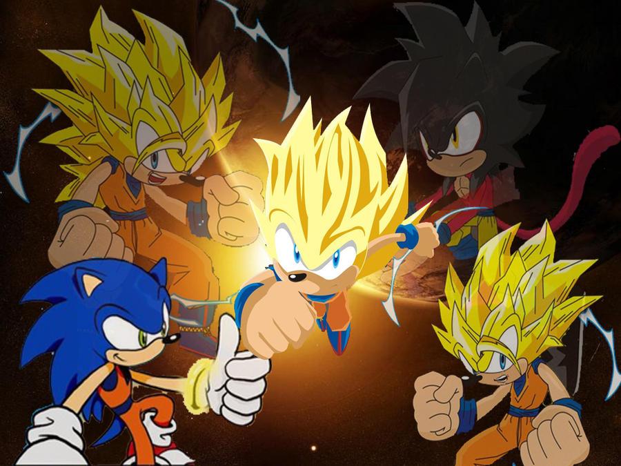 Goku Fase 10000 Vs Vegeta Fase 10000: Super Saiyan Sonic By Dairon11 On DeviantArt