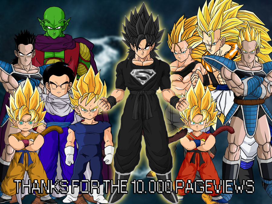 Top 11 Fases De Goku 1 2 3 4 5 6 7 8 9 10: It's Over 10000!! By Dairon11 On DeviantArt