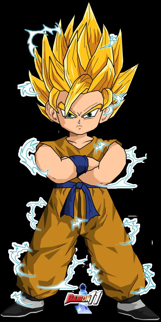 Goku turns Super Saiyan 11 for the first time - YouTube