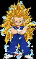 Kid Vegetto SSJ3 (DBM Version) by Dairon11