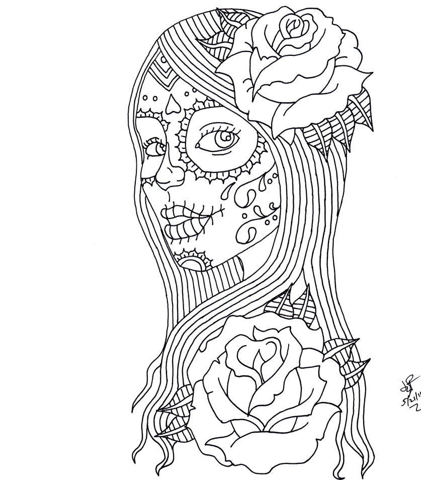fantastical styles coloring pages - photo#9