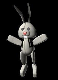 Alice's Bunny in White