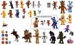 [CHRISTMAS BOX GRAND FINALE] FNAF World Resources!