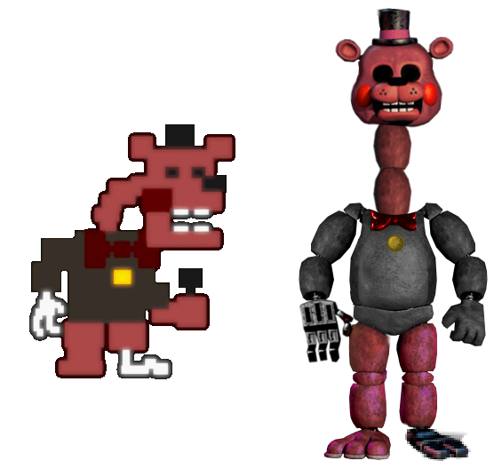 FNaF World Halloween Edition - Redbear by RealityWarper45 on ...