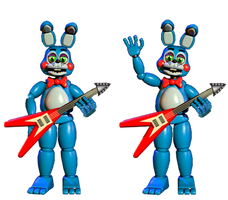 Thank You / Extras Toy Bonnie by RealityWarper45