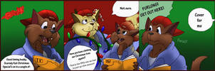 Swat Kats Christmas by Aspendragon