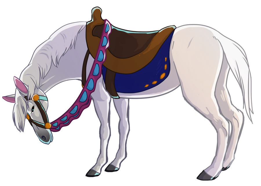 Prince Charming's White Horse by Aspendragon on DeviantArt