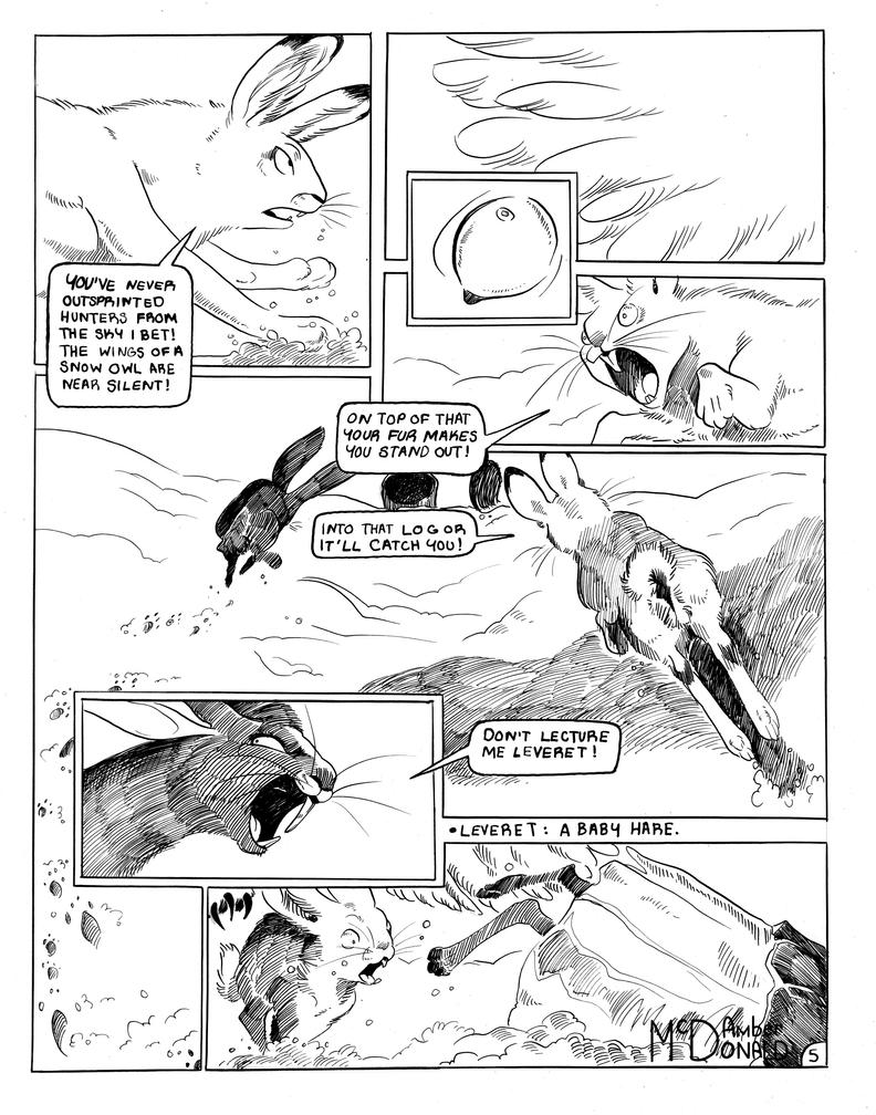 Snare's Challenge Page 5 by Aspendragon