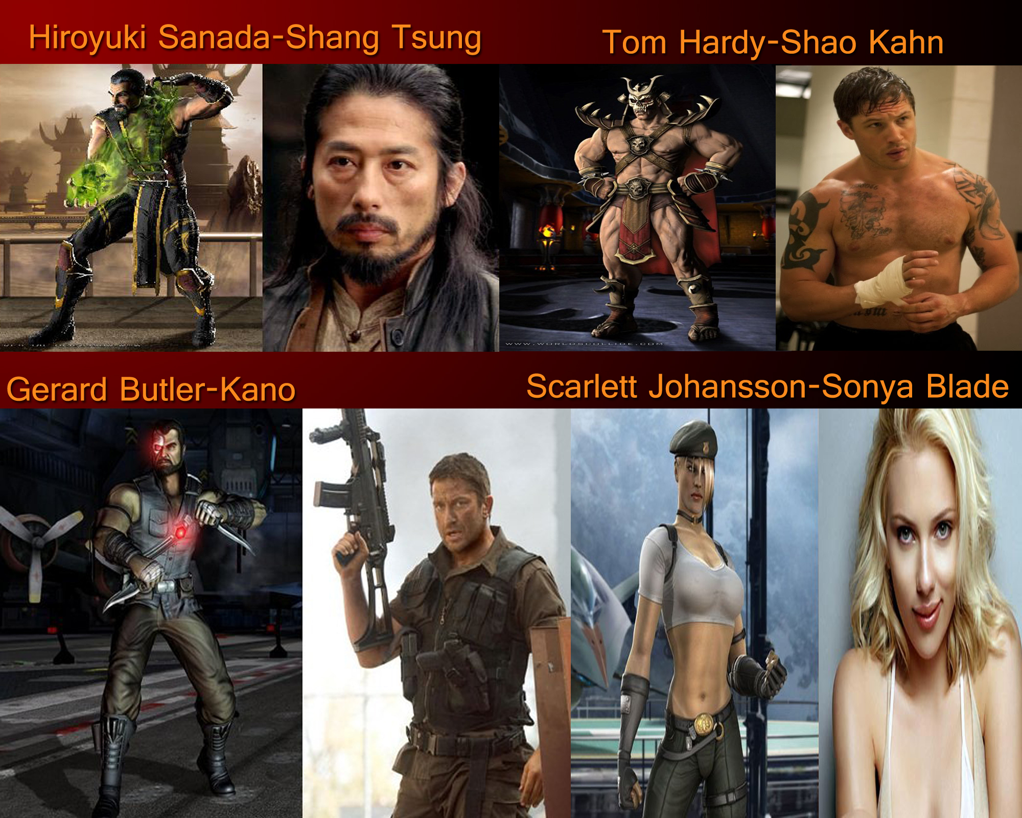 Mortal Kombat Fan Cast 2 By Moviezaremylife On Deviantart