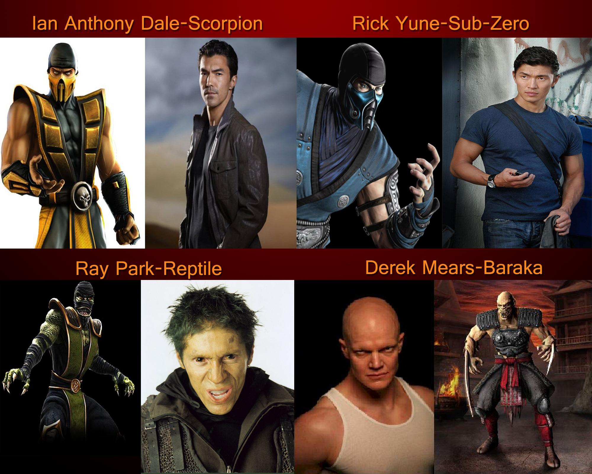 mortal kombat movie cast