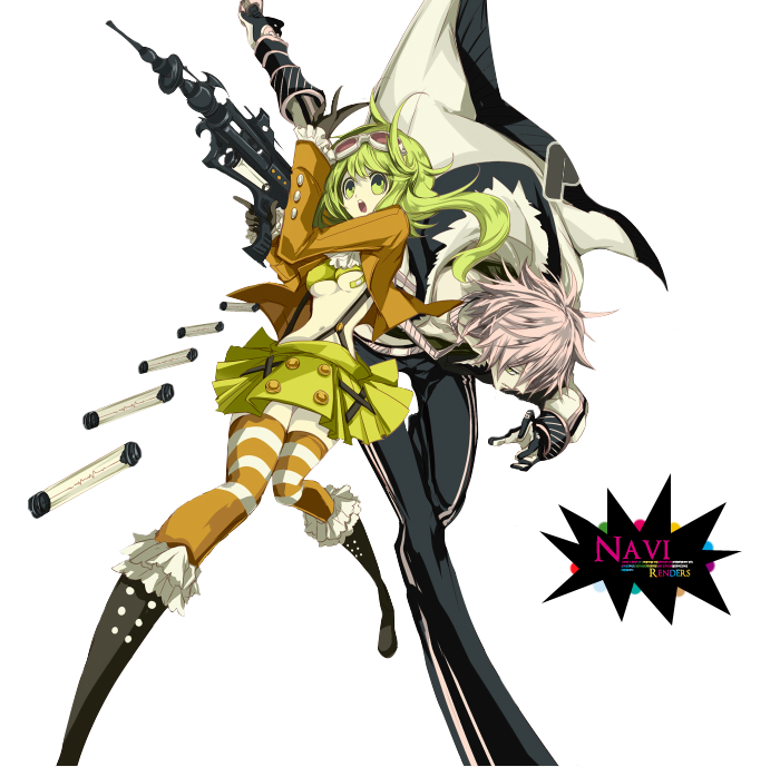 Gumi y VY2 render by Lucarity