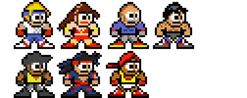 Streets of Rage - MM style by chaoticdarkness