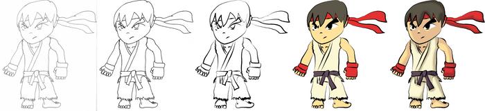 Ryu - Progression