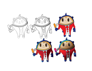 WIP Teddie Preview by chaoticdarkness