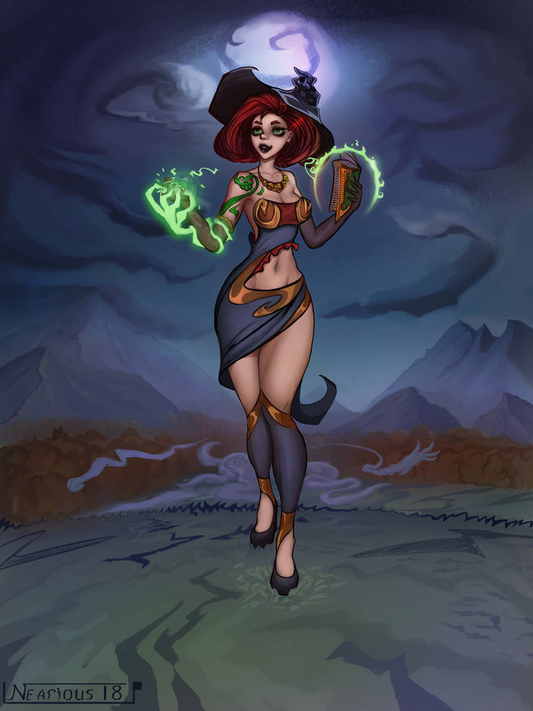 Witch by Nearious