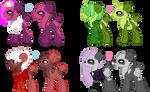 Panda Pony Adopts (CLOSED) 0/4