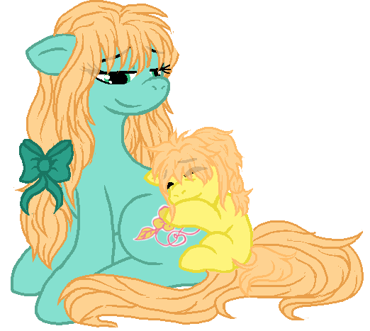 (Gift) Cuddle with Mom by Arianstar