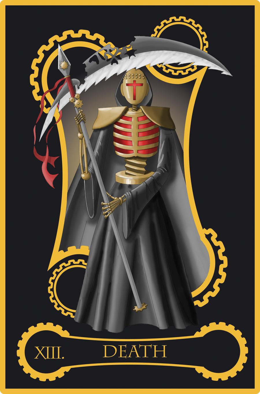 Steampunk Tarot Of Death By Flamarahalvorsen On DeviantArt