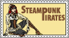 Request Steampunk Pirate stamp by flamarahalvorsen