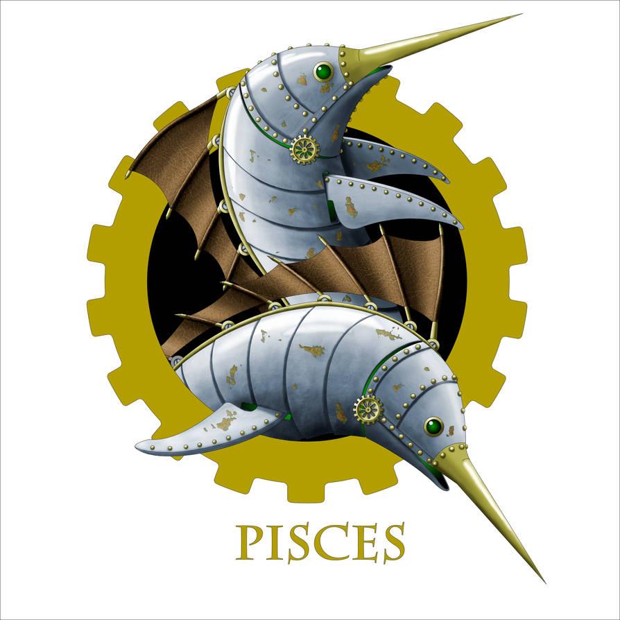 Steampunk Zodiac - Pisces