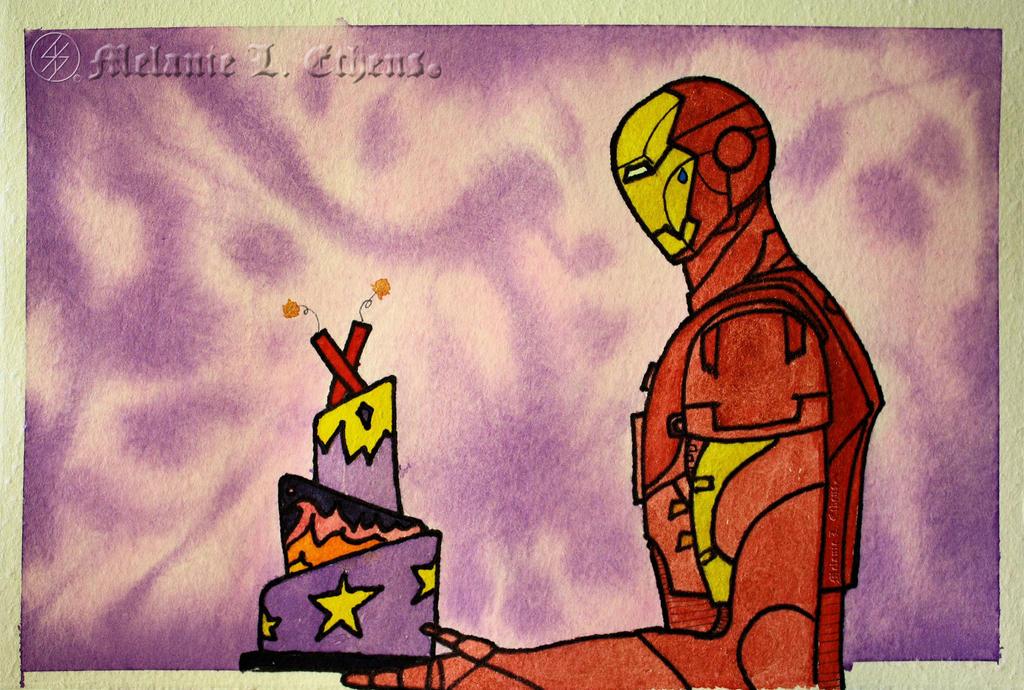 Iron Man Birthday By Ryoshi No Hikari On Deviantart