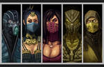 Test Your Might! - The Klassic Ninjas of MKX