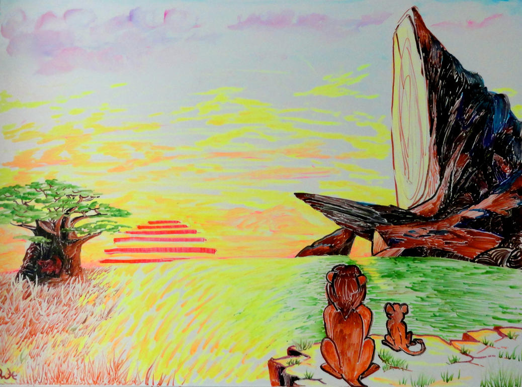 The lion king whiteboard drawing by manukahoney7 on for Cool stuff to draw on a whiteboard