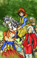 Dragon Quest VIII-Team- by crocell