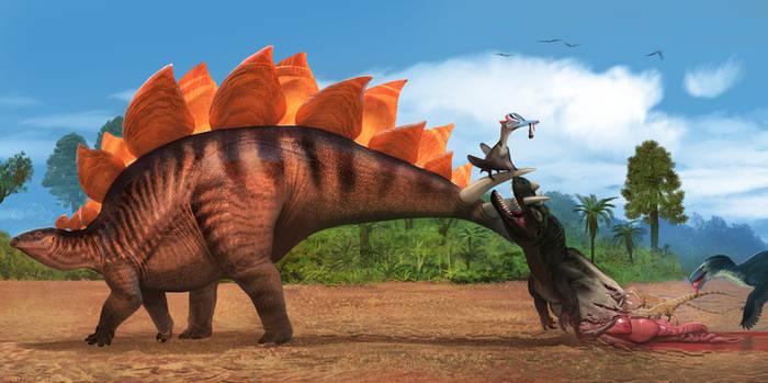 stegosaurus and ... Friends
