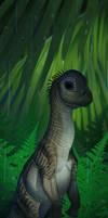 A Baby Argentinosaurus