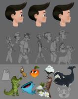 Children's Book Sketches