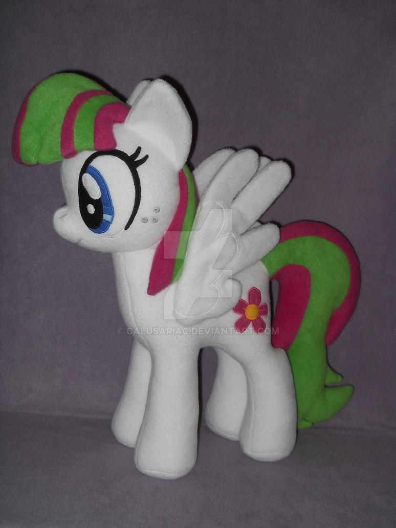 Blossomforth plushie by MLPT-fan