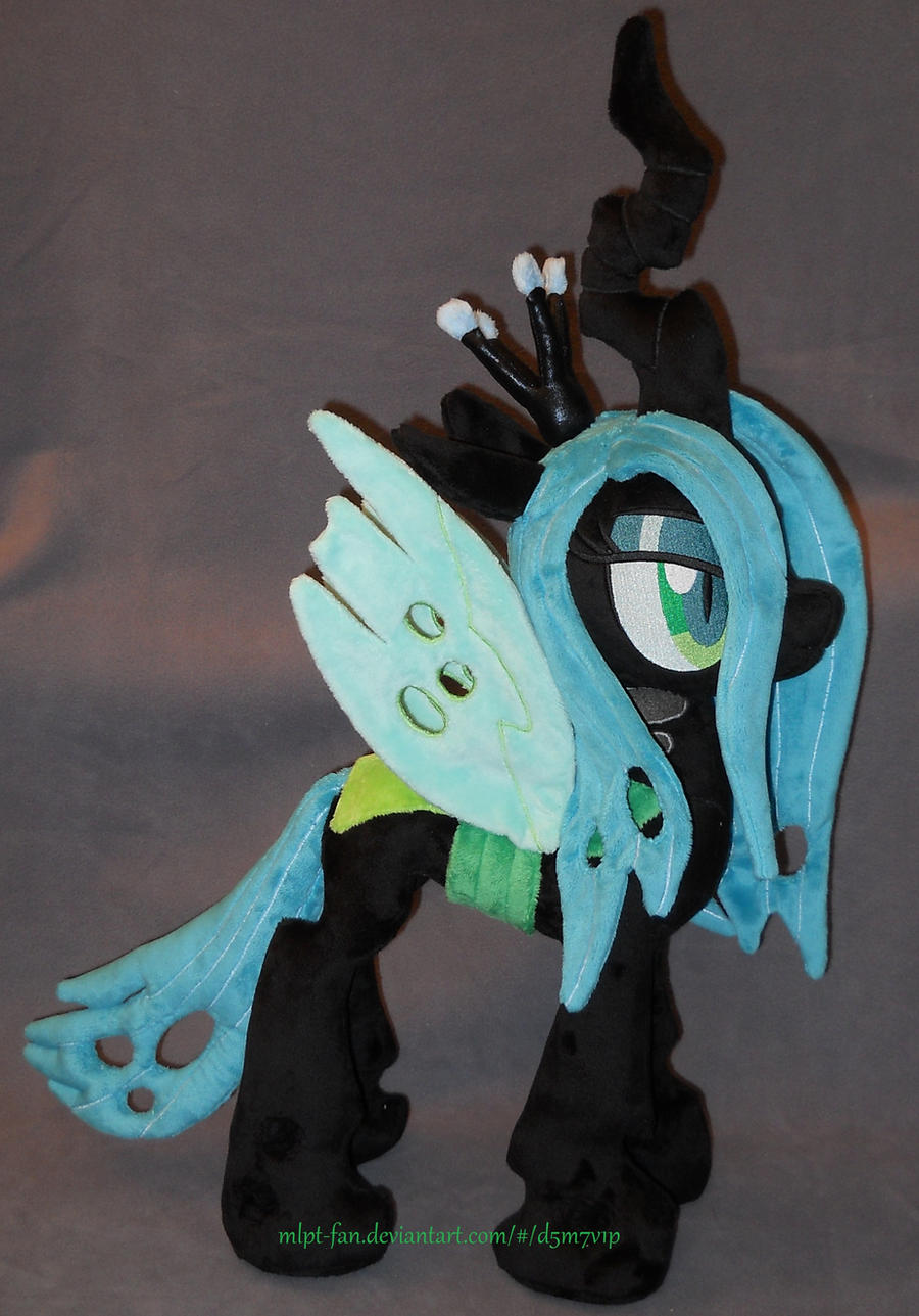 QUEEN CHRYSALIS plushie by MLPT-fan
